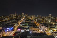 San Francisco Nob Hillin yö Kuvituskuvat