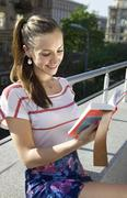 Student with book Stock Photos