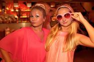 Pink party Stock Photos