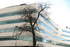 Building, gouvernment in sarajevo, public property Stock Photos