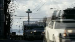 Seattle Capitol Hill - stock footage