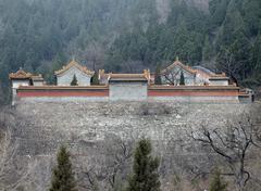 Stock Photo of building near badaling