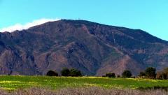 Sierra Bermeja mountain Stock Footage