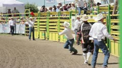Bullrider Stock Footage