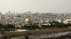 East jerusalem Stock Footage