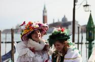 Carnival in Venice Stock Photos