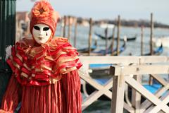 Carnival in Venice Stock Photos