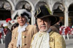 Stock Photo of Carnival in Venice