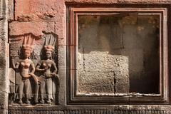 religious carving - stock photo