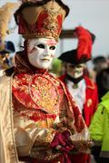 Carnival in Venice - stock photo