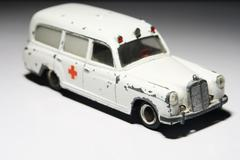 Toy ambulance Stock Photos