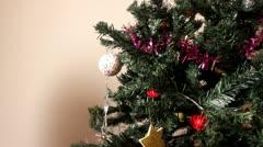 Hand made Christmas - stock footage