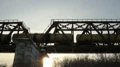 Railway Bridge Stock Footage