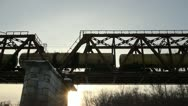 Stock Video Footage of railway Bridge