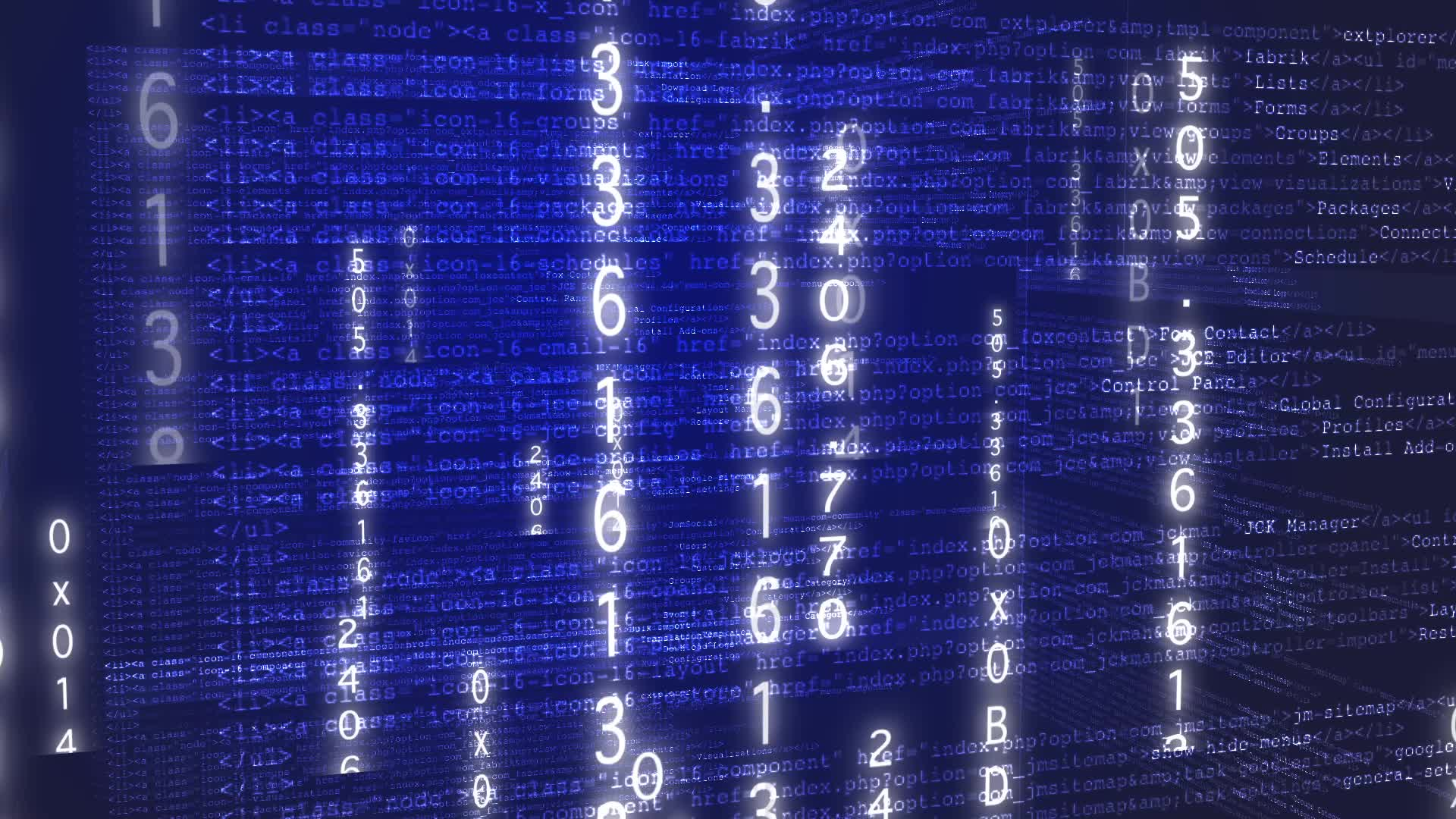 World Of Computer Code  Hi Res Video 21222311