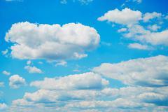 Beautiful dinamic sky  Stock Photos