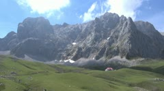 Cantabrian mountains fast 60 Stock Footage