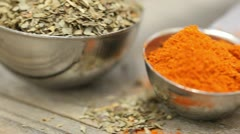 Spices Stock Footage