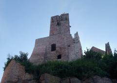 Stock Photo of idyllic wertheim castle