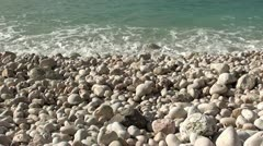 Sea wash audio Stock Footage