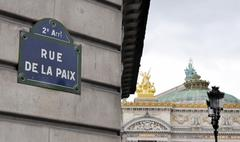 Stock Photo of rue de la paix