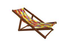 Deck-chair Stock Illustration