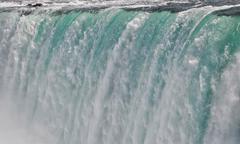 Niagara falls close up Stock Photos