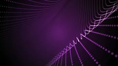 Light Bands Purple Stock Footage