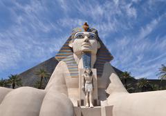 sphinx replica - stock photo