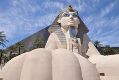 sphinx replica - stock photo