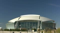 Cowboy Stadium Day Stock Footage