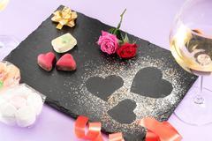 Valentine decoration Stock Photos
