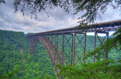 New River Gorge Bridge - stock photo
