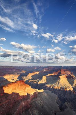 Stock photo of grand canyon view