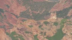 Aeria corsica scandola corse Stock Footage