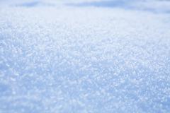 fresh snow background - stock photo