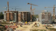 Construction Site Stock Footage