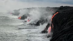 Hawaiian Lava Flow - FullHD Arkistovideo