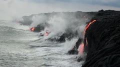 Stock Video Footage of Hawaiian Lava Flow - FULLHD