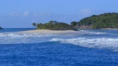 Deserted Island - stock footage