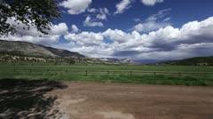 Pasture - stock footage