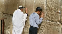 western wall - stock footage