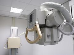 x-ray  equipment - stock photo