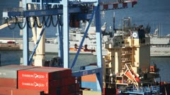 Cargo Containers (Timelapse) - stock footage