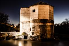 Twilight in the city of cordoba, andalusia, spain Stock Photos