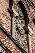 Arabian arches in spanish town of cordoba, symbol of the arabian domination i Stock Photos
