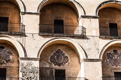 Building facade in cordova, spain Stock Photos
