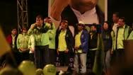 Stock Video Footage of BANOS, ECUADOR - 21 JANUARY 2013: President of Ecuador Rafael Vicente Correa