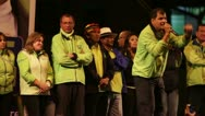 Stock Video Footage of BANOS, ECUADOR - 21 JANUARY 2013: President of Ecuador Mr. Rafael Vicente Correa
