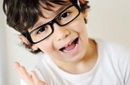 Stock Photo of closeup portrait of kid